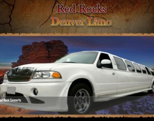 Limo for Red Rocks Concerts