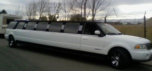 Black and White Tux Limousine