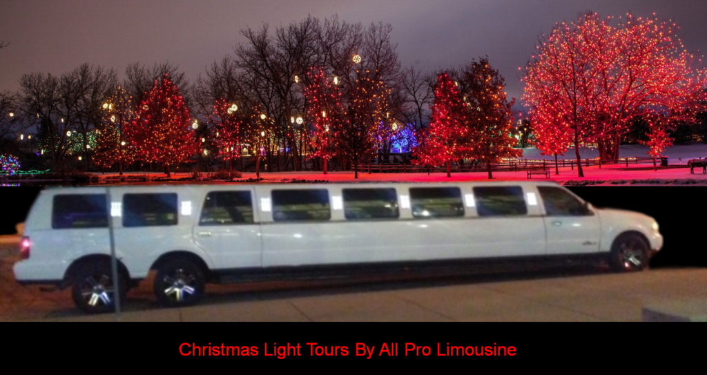 christmas lights tour limo denver